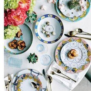 Anthropologie Forbury dinnerware for 8